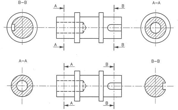 Ingegneria disegno tecnico le sezioni for Disegno di piano domestico